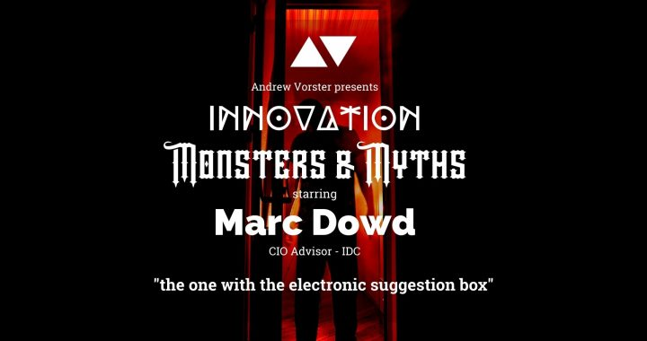 Marc Dowd shares his Monsters and Myths