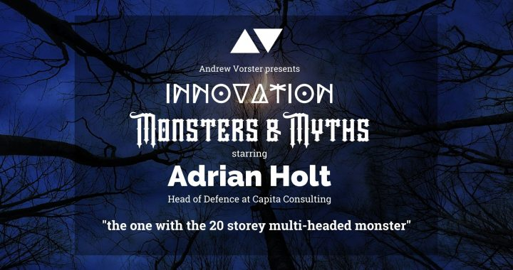 Adrian Holt Monsters and Myths interview