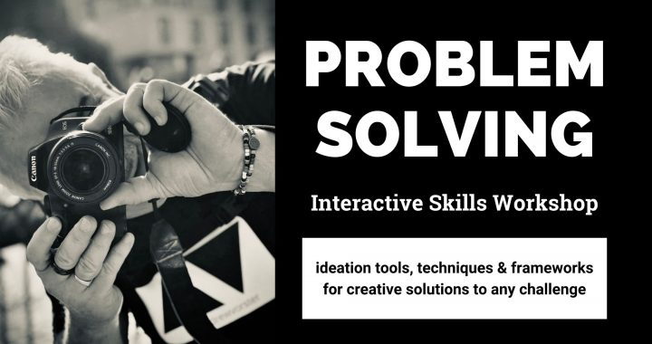 Problem solving skills workshop ideation tools for solutions to challenges